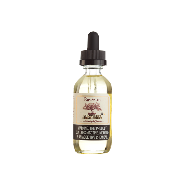 Strawberry Creme Brulee - 60ml - Ripes Vapes