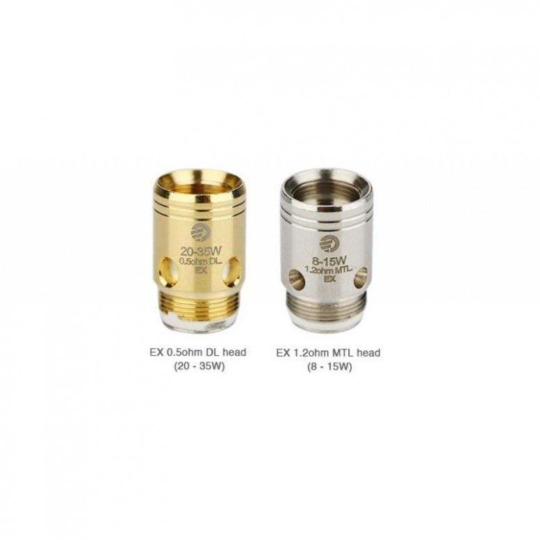 Résistance - EX pour Exceed - 1,2 Ohm SS - 0,5 Ohm Gold
