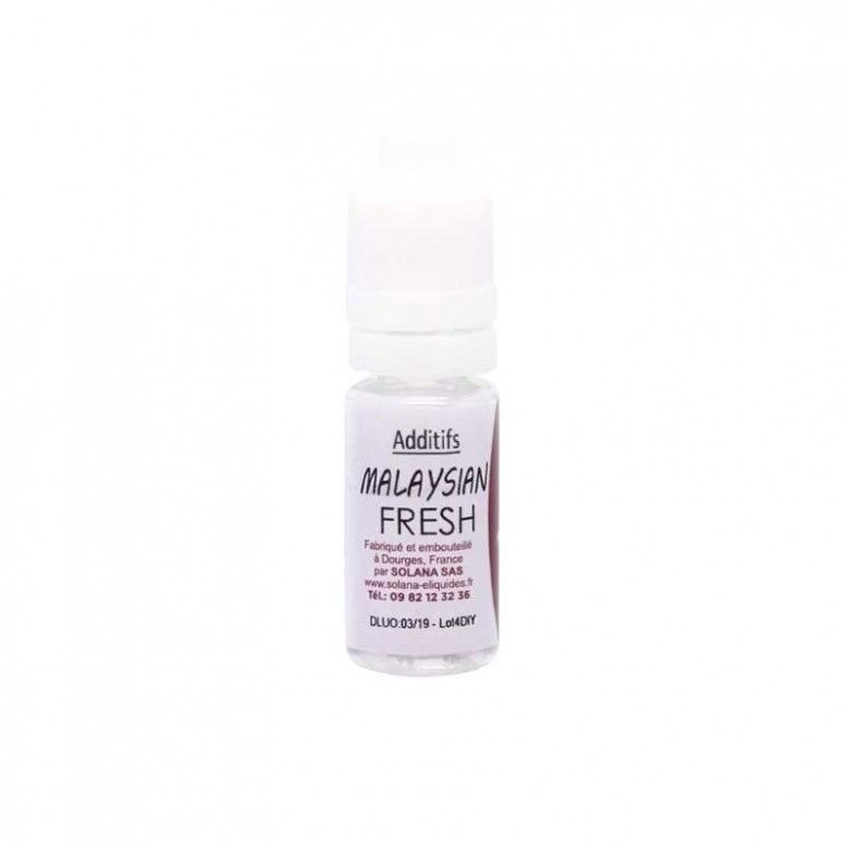 Malaysian Fresh - 10ml - Additif Solana