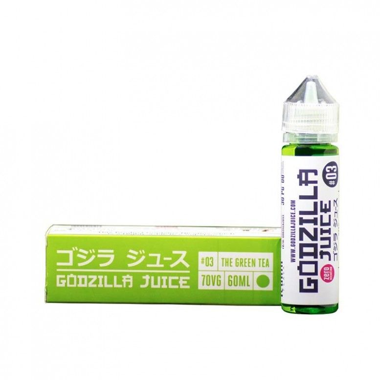GODZILLA 3 (GREEN TEA) - 60ML - FCUKIN FLAVA