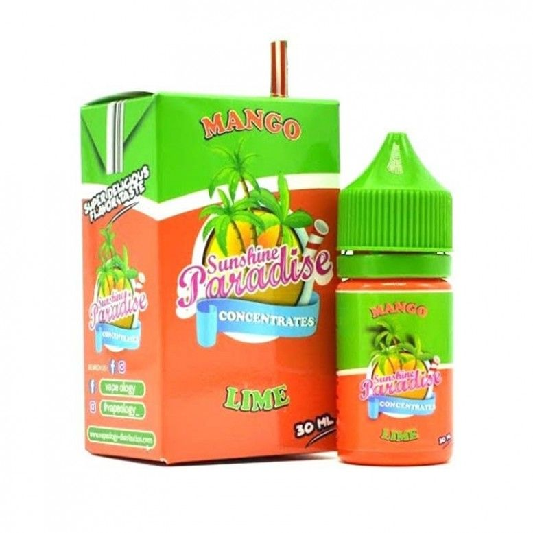 Mango Lime - 30ml - CONCENTRE Sunshine 84 Paradise