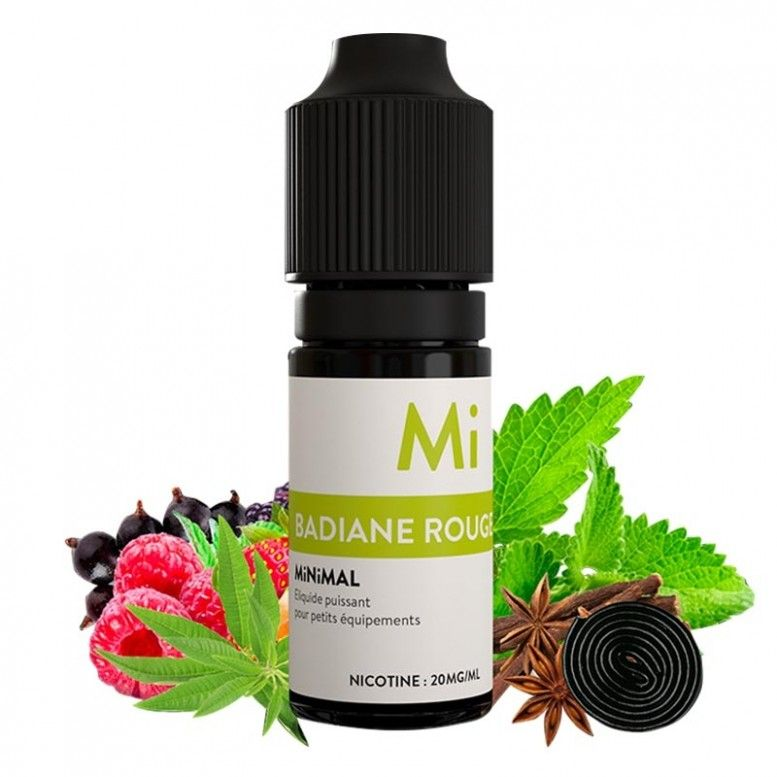 Bediane Rouge - Minimal (Sel de Nicotine)
