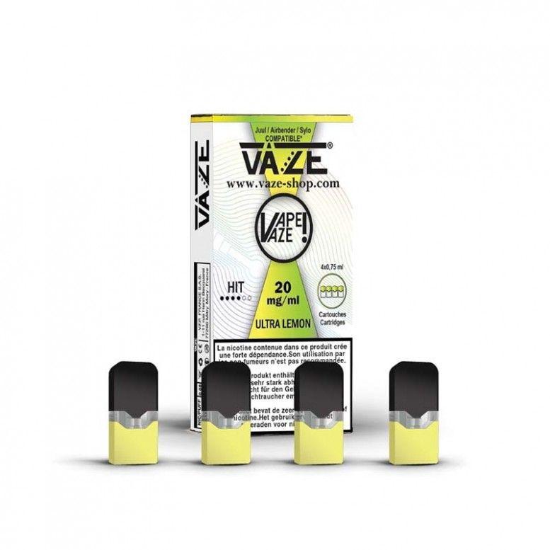 Ultra Lemon - Cartouches x4 - Vaze